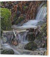 Slow Water Wood Print