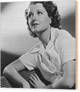 Small Town Girl, Janet Gaynor, 1936 Wood Print by Everett