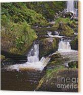 Small Waterfalls Wood Print