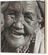 Smile Wood Print