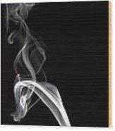 Smoke 2 Wood Print