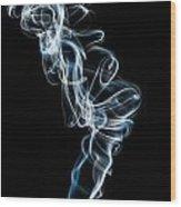 Smoke-5 Wood Print