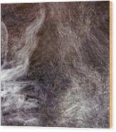 Smoking Water Wood Print