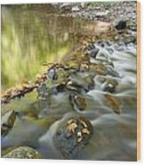 Smoky Mountain Streams Iv Wood Print