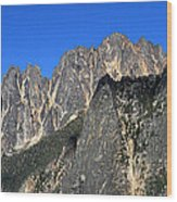 Snagtooth Ridge North Cascades National Park Wood Print by Pierre Leclerc Photography