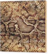 Snake Skin Wood Print