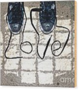 Sneaker Love 1 Wood Print