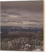 Snow By Moonlight 7049 Wood Print