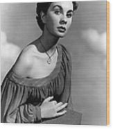 So Long At The Fair, Jean Simmons, 1950 Wood Print by Everett