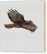 Soaring Peacefully Wood Print