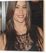 Sofia Vergara At A Public Appearance Wood Print