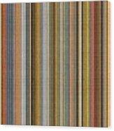 Soft Stripes Ll Wood Print