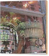 Soho Reflections 1 Wood Print