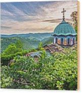 Sokolski Monastery Wood Print