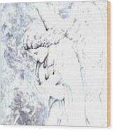 Solace Angel Wood Print