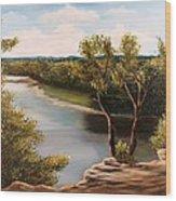 Solado Creek Wood Print