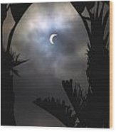 Solar Eclipse II Wood Print