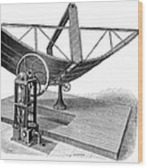Solar Engine, 1884 Wood Print