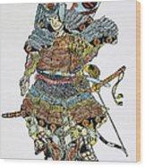 Soldier: Samurai Wood Print