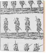 Soldiers: Infantry Drill Wood Print