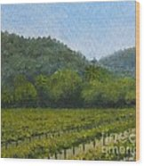 Solis Winery Wood Print