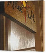 Solstice Cafe Wood Print
