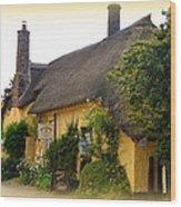 Somerset Tea Room Wood Print