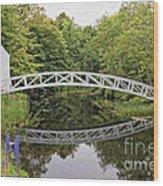 Somes Bridge Wood Print