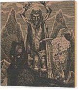 Songs Of The Last Gods Wood Print by Sirenko