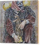 Sotto Il Peso De Sa Carriga Wood Print