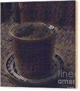 Souffle Wood Print