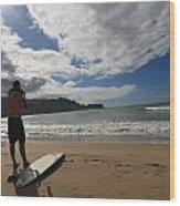 Soul Surfer Wood Print