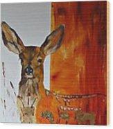 Soulmate II Wood Print