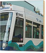 Sounder Train Wood Print