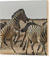 Sour Stripes 3 Wood Print