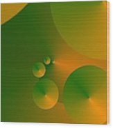 Source Green Wood Print