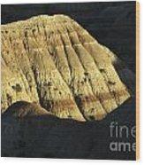 South Dakota Badlands Wood Print