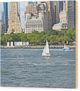 South Ferry Water Ride4 Wood Print