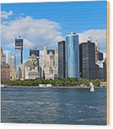 South Ferry Water Ride5 Wood Print