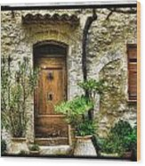 South Of France 1 Wood Print