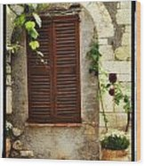 South Of France Wood Print