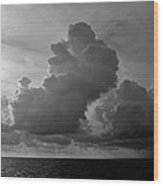 South Pacific Sky Wood Print