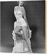South Sea Woman, Virginia Mayo, 1953 Wood Print by Everett