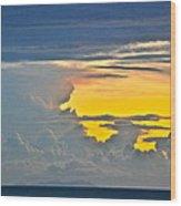 South Seas Yellow Wood Print