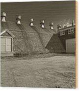 Southampton Potato Barn Wood Print