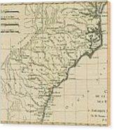 Southeast Coast Of America Wood Print