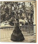 Southern Belle Wood Print
