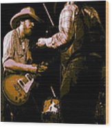 Southern Jam By The Cdb Wood Print
