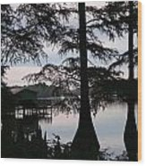 Southern Lake Wood Print