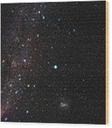 Southern Milky Way Wood Print
